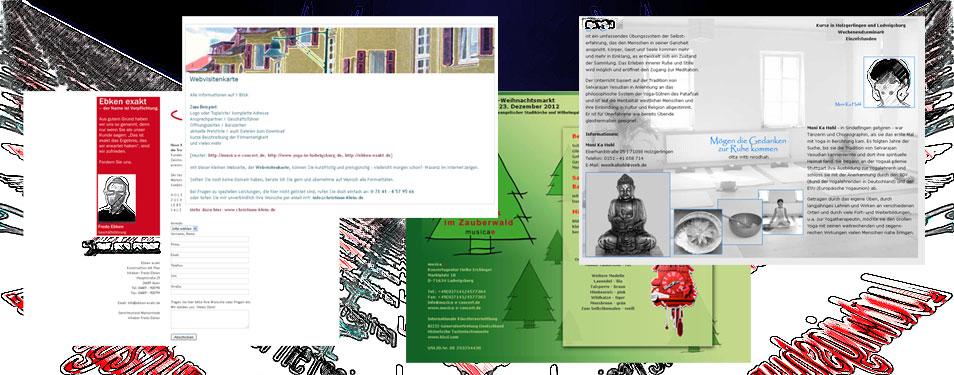 Web-Visitenkarten