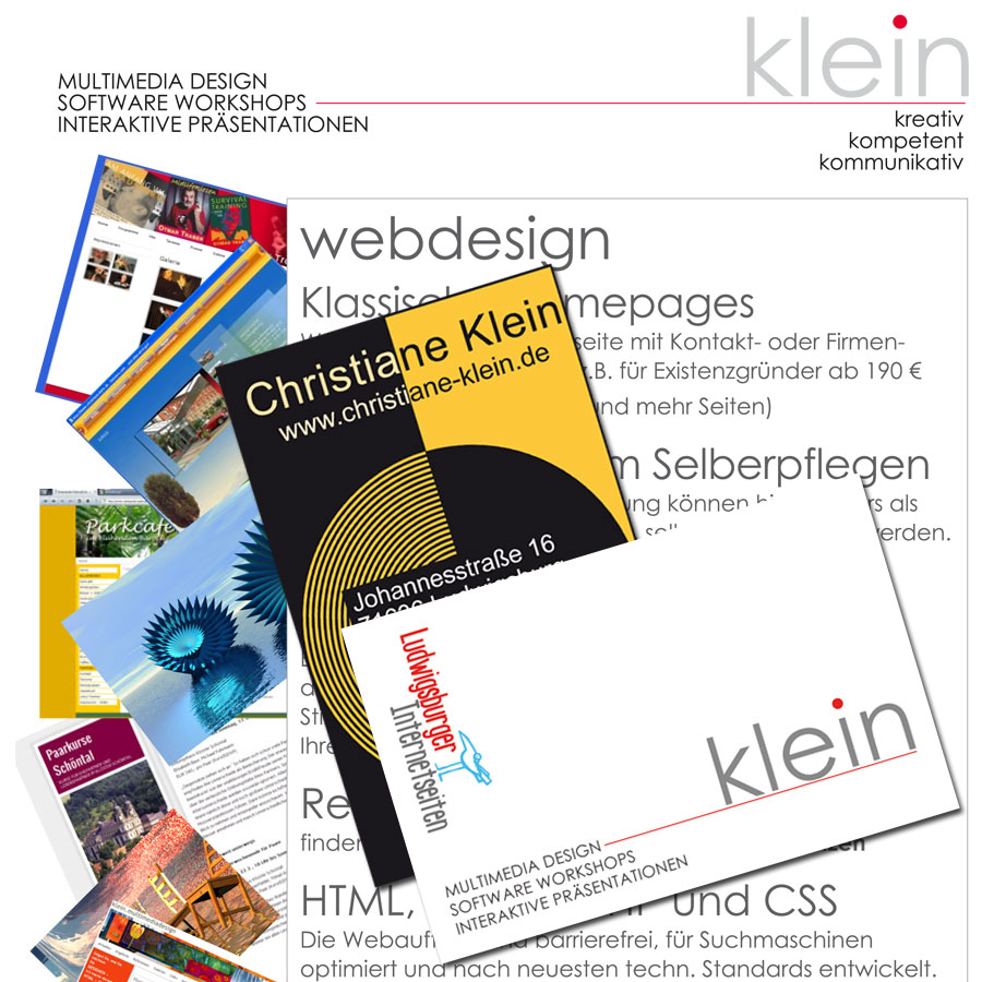 Visitenkarten, Briefpapier, Flyer … Officebedarf